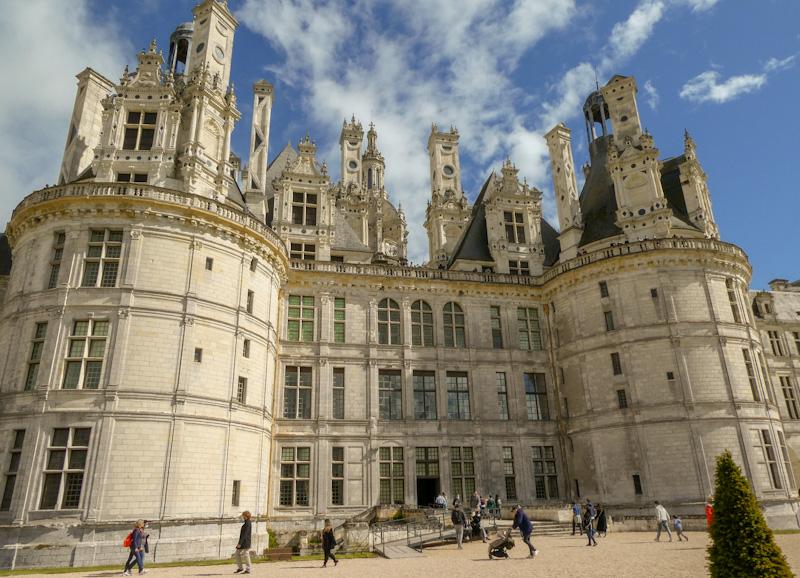 Chambord le plus beau des chateaux de la Loire