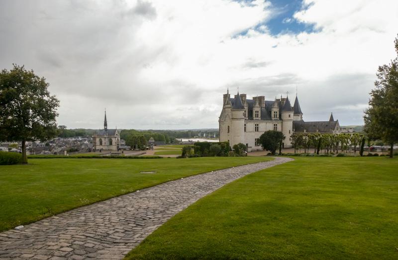 Château d'Amboise sur mon circuit des Châteaux de la Loire en 2 jours