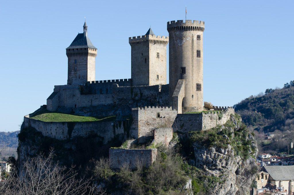 Chateau de Foix en Ariège