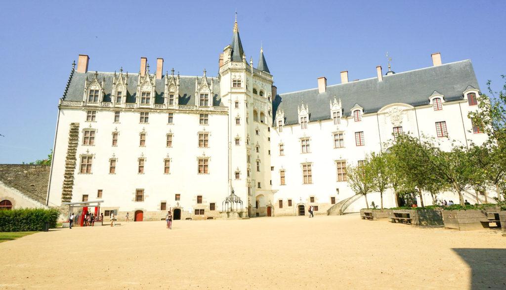 NANTES SUR mon circuit 4 jours Sud Bretagne  château des ducs de Bretagne