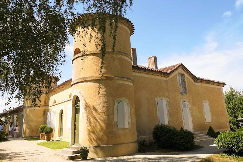 Château et domaine Tariquet sur mon circuit touristique dans le Gers
