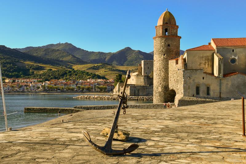 visiter collioure à pied en 1 jour lors de mon week end romantique au Sud de la France