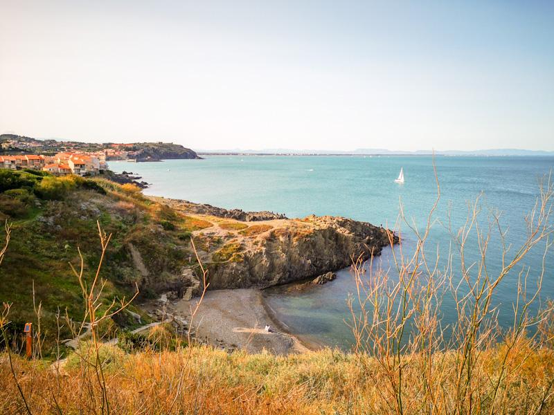 sentier des douaniers Collioure 2ème jour de mon week end en amoureux au Sud de la France