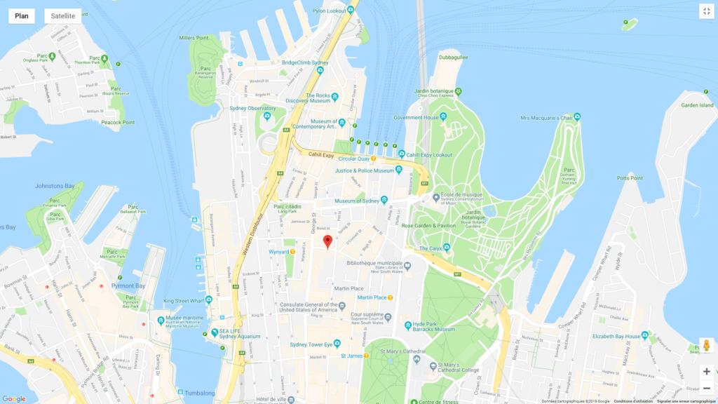hotels pas chers Australie selon circuit de 3 semaines Sydney