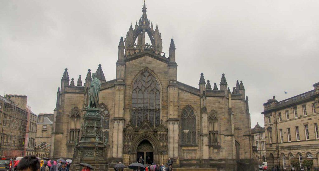 Cathédrale un des incontournables d'Edimbourg