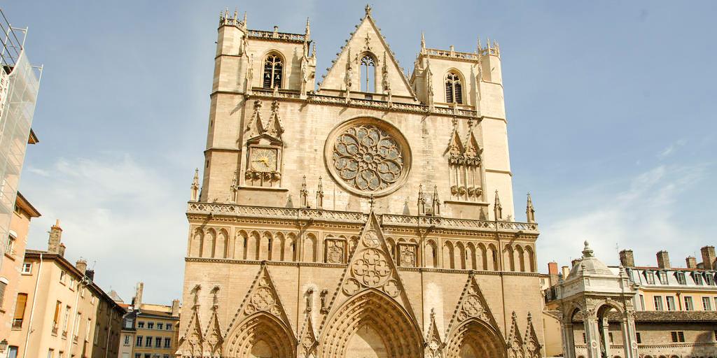 Cathédrale Saint Jean dans mon itinéraire pour visiter Lyon en 1 jour à pied