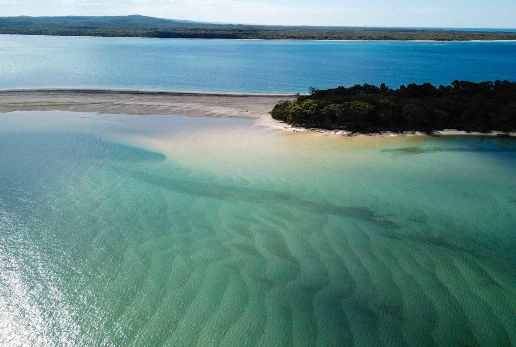 Plages Fraser Island Australie