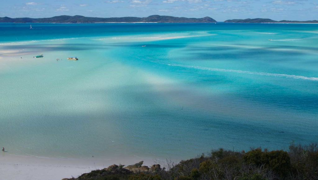 Road trip in Australia Queensland - day trip in Whitsundays Islands
