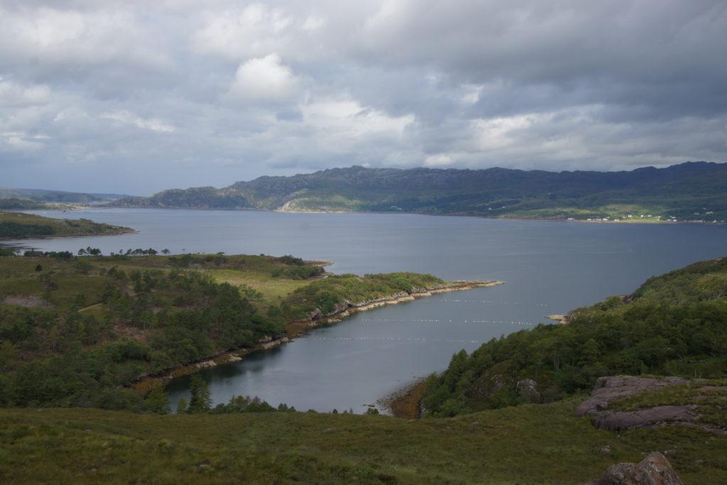 région du Loch Lomond juste après la belle vallée de Glen Coe et