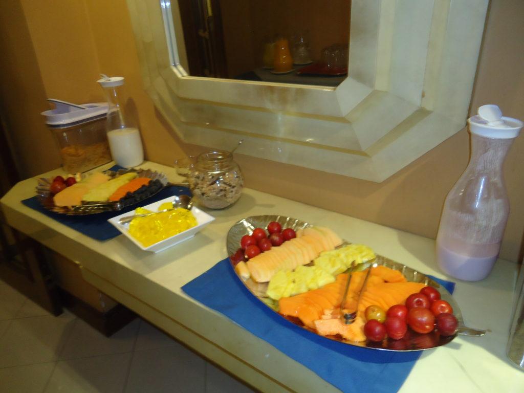 HOTEL PAS CHER BOGOTA - suite buffet petit déjeuner Hôtel Saint Simon
