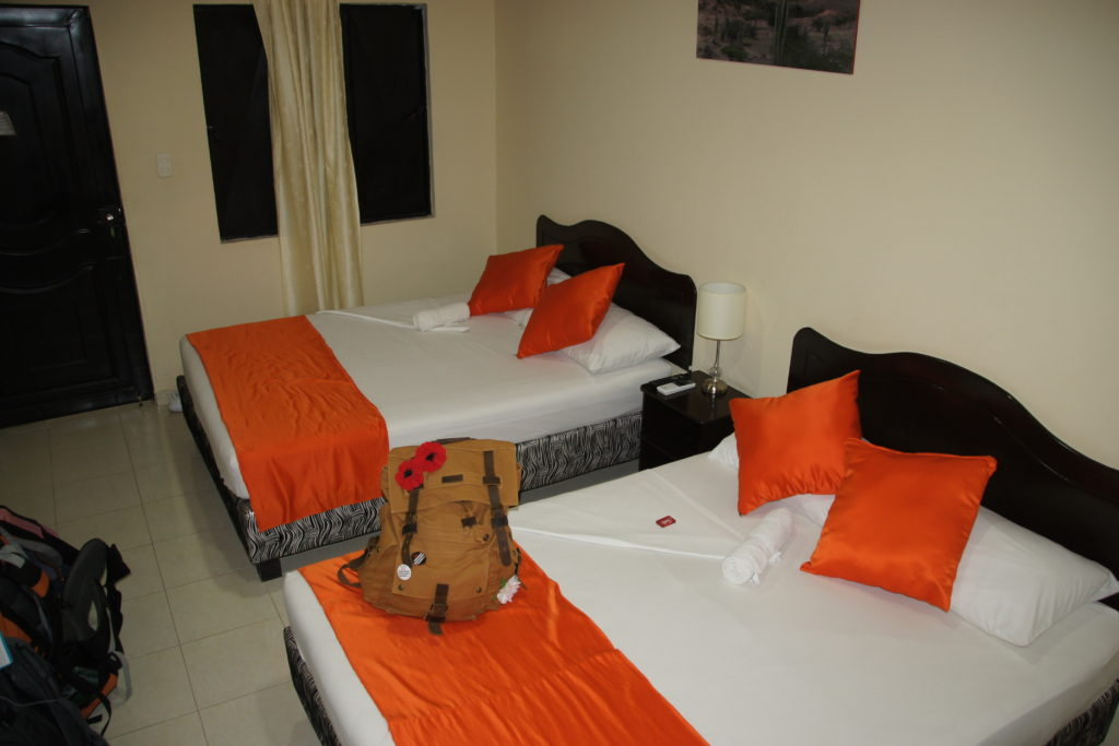 Notre chambre à l'HOTEL PAS CHER DESERT TATACOA