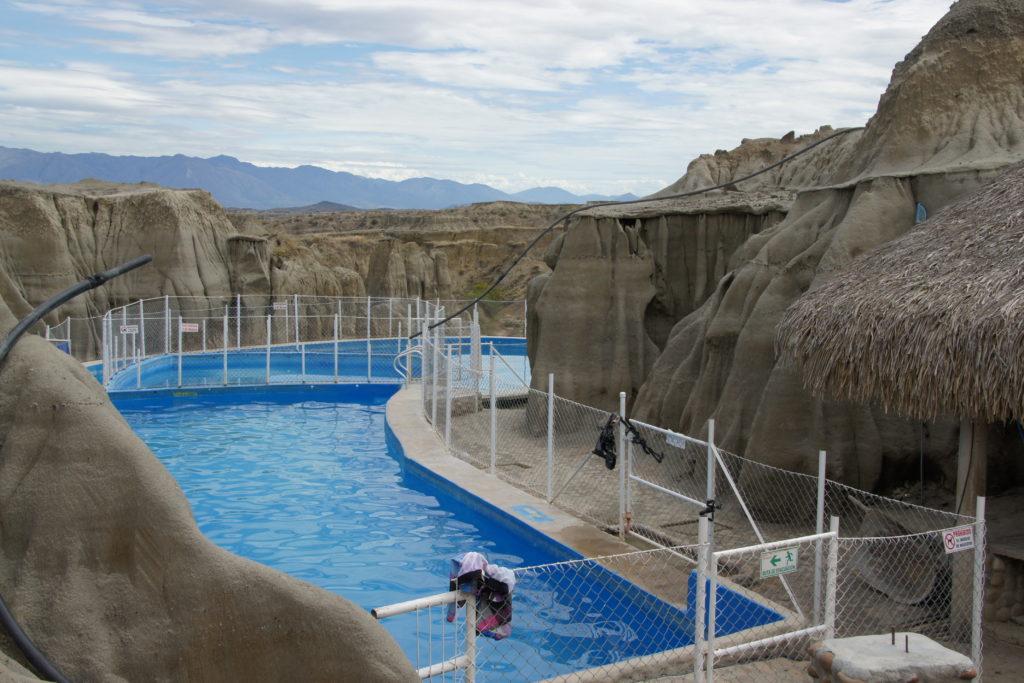 piscine dans le DESERT DE TATACOA