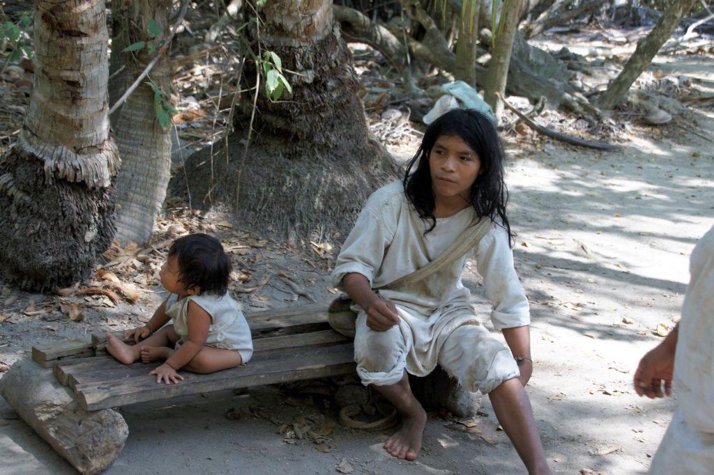 Indiens Kogui dans le parc Tayrona