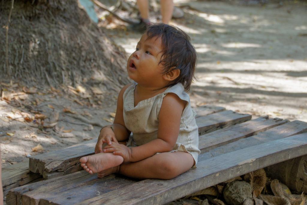 Bébé Kogui dans le parc Tayrona