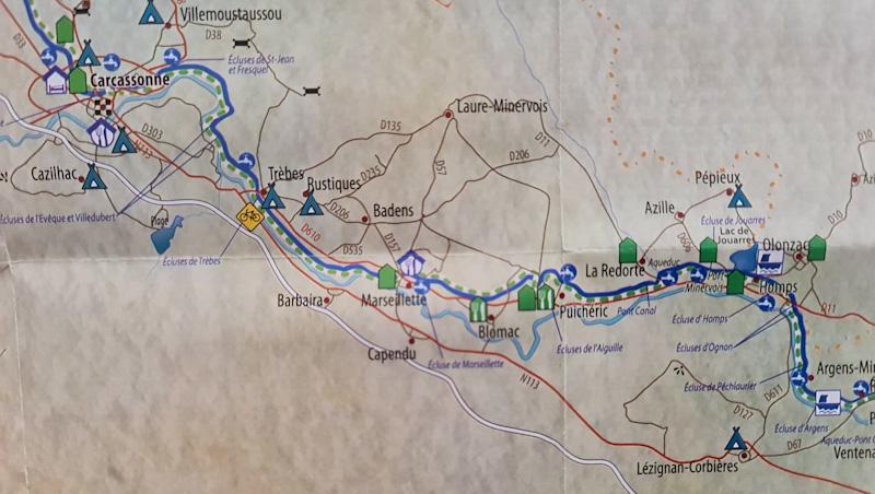 De Puichéric à Béziers - Tourisme le long du Canal du Midi à vélo