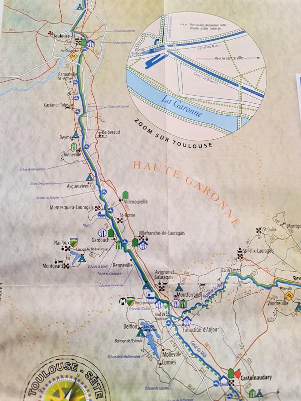 Tourisme le long du Canal