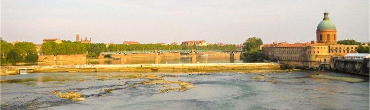 Vue du Pont des Catalans - Toulouse en 2 jours