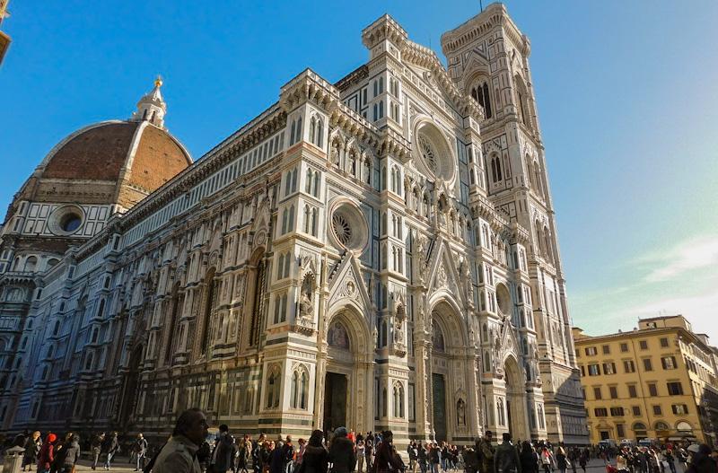 La Catedral etapa de mi tour de Florencia en 1 día