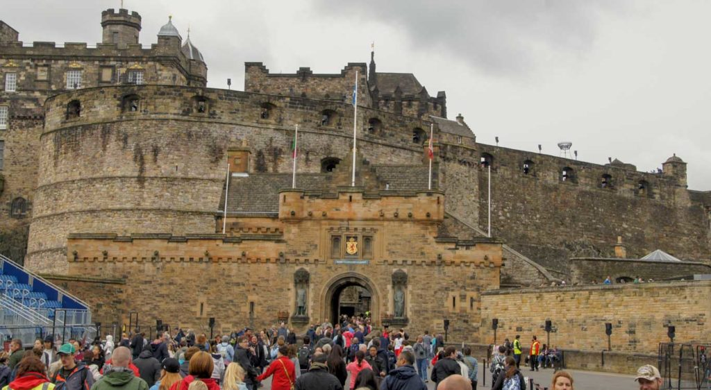 EDIMBOURG en 1 jour Mon itinéraire à pied pour le Château