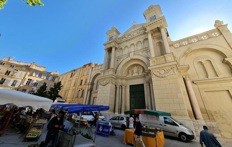Visiter Aix en Provence en 1 jour - Eglise de la Madeleine