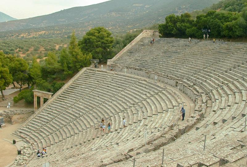 Site d'Epidaure étape dans mon road trip de 2 semaines en Grèce