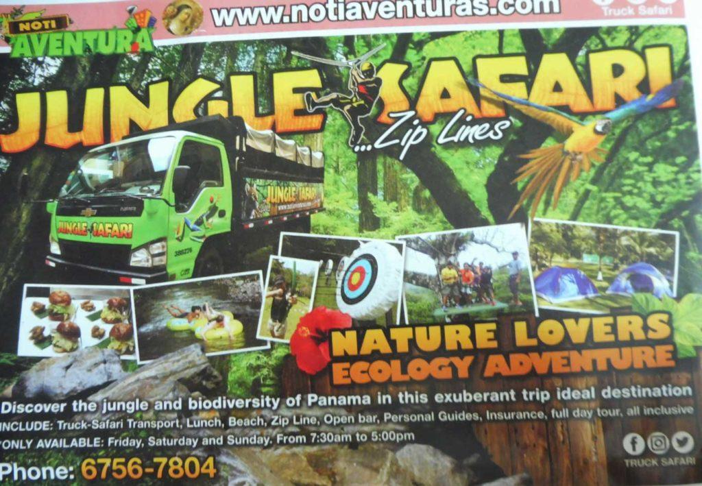 Activités à Panama city Excursion