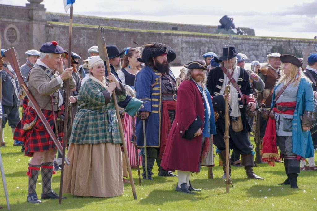 Direction Inverness SCENE RECONSTITUTION A FORT GEORGE