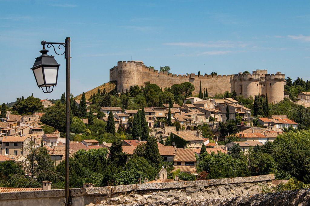 Fort Saint André après la visite d'Avignon