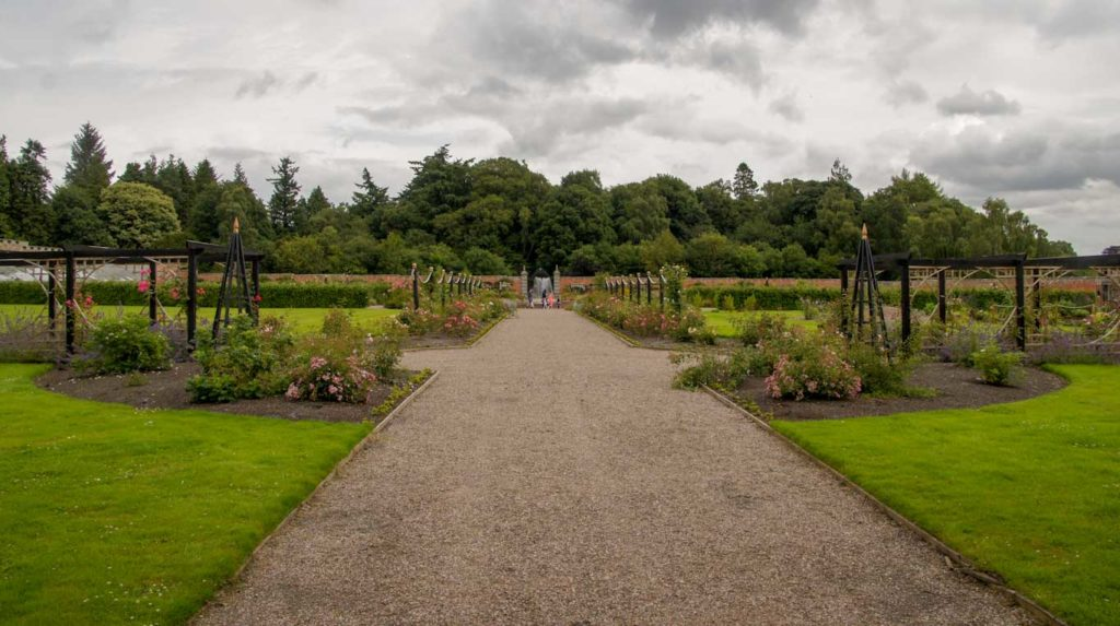 jardins du Château de Glamis