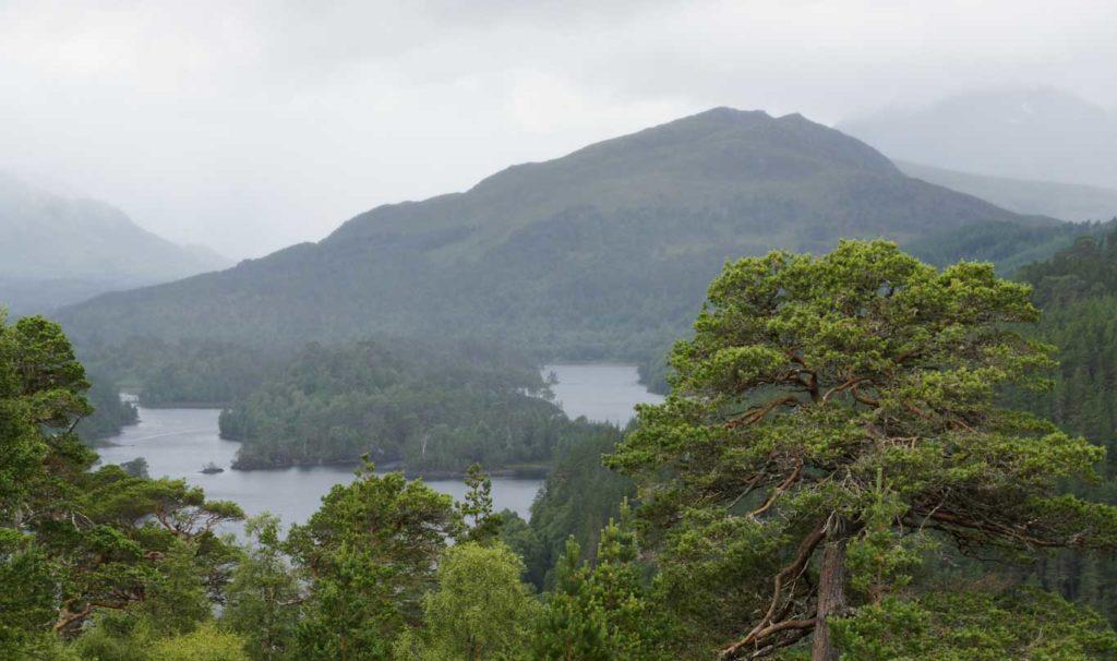 Vallée de Glen Coe et Loch Lomond