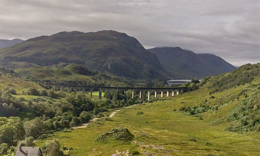 Circuit Glenfinnan Fort William Viaduc
