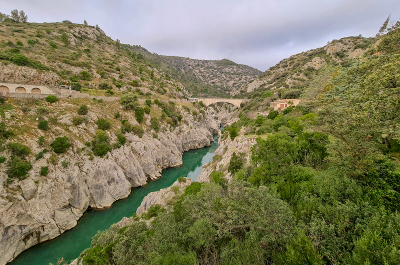 Gorges de l'Hérault et le Pont du Diable