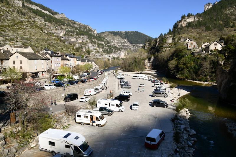 Visiter les Gorges de la Jonte en Camping car