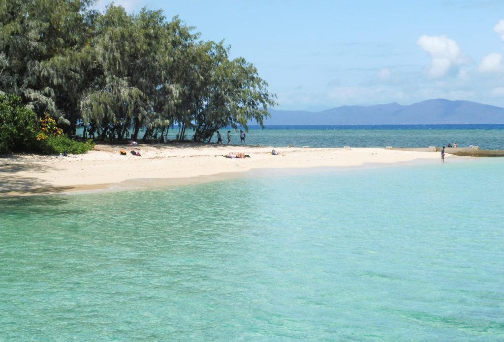 Green island Beach en Australie