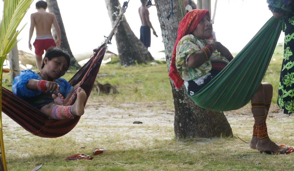 Communauté des Kunas ou Gunas ILES DES SAN BLAS
