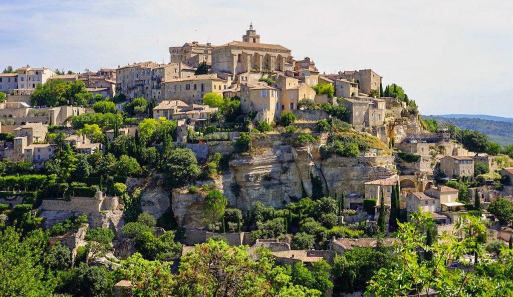 Circuit en Provence - Gordes le village provençal typique