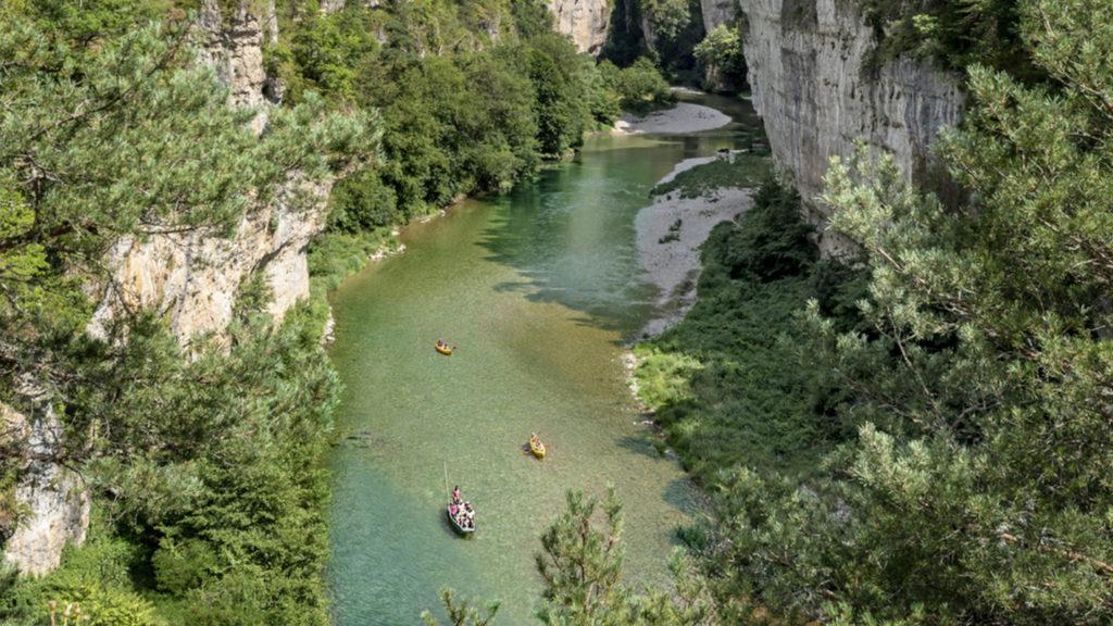 Mon circuit des plus beaux villages de France dans les gorges de l'Aveyron