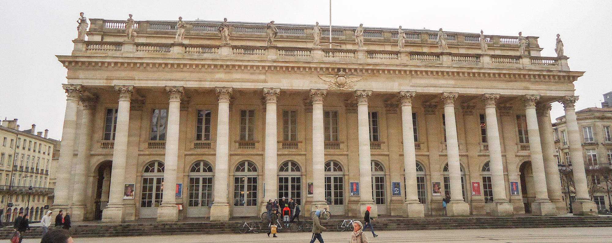 Grand Théâtre dans mon circuit Bordeaux en 1 jour