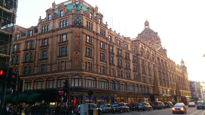 Grand magasin Harrods LONDRES