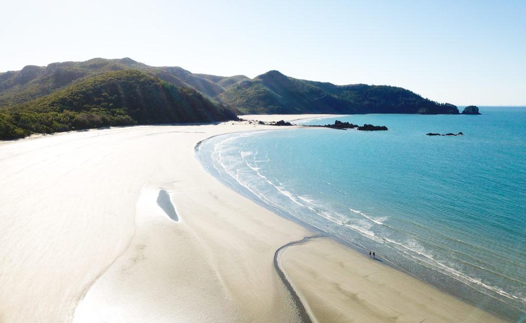 plages d'Australie sur Hillsborough cap