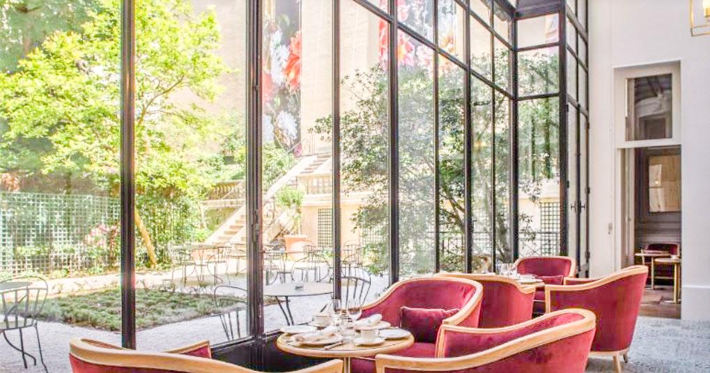 Meilleur hôtel à Paris– Hôtel Alfred Sommier et sa belle verrière
