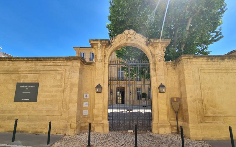 Etape dans mon itinéraire de visite d'Aix en Provence