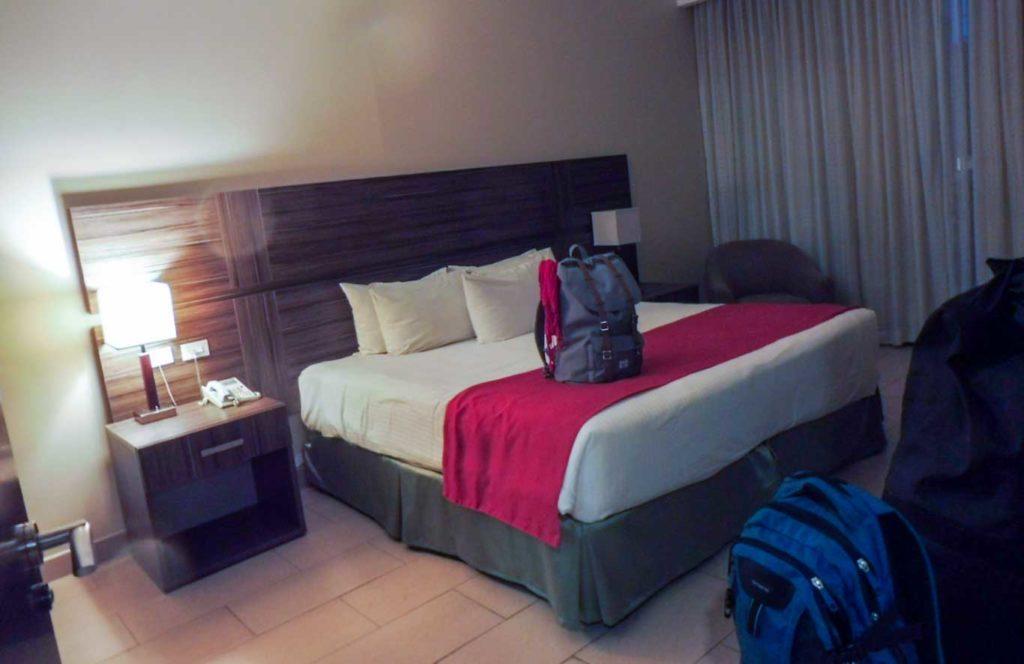 Chambre de notre suite HOTEL PANAMA CITY