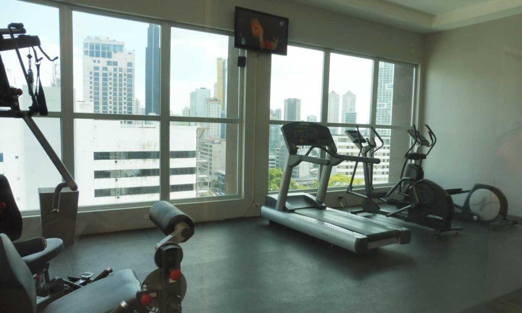 HOTEL PANAMA CITY et sa salle de sport