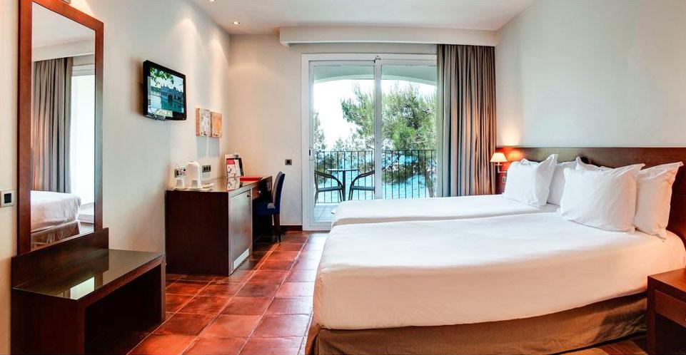 Meilleur hôtel acceptant les chiens en Catalogne sur la Costa Brava Platja d'Aro Nord Espagne