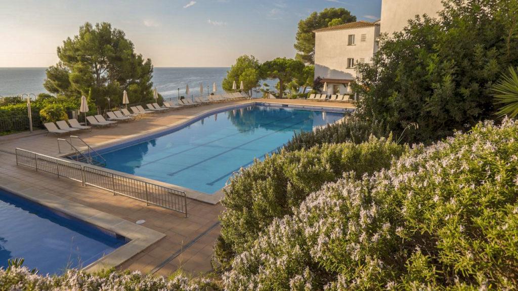 Meilleur hôtel acceptant les chiens en Catalogne sur la Costa Brava Platja d'Aro en Espagne