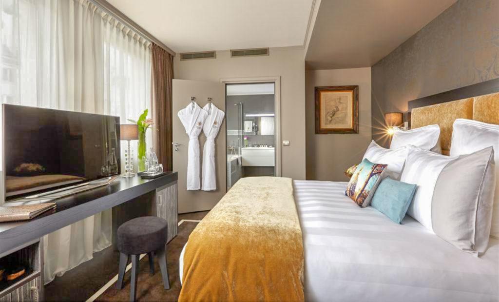 Meilleur hôtel à Paris– Chambre de l'Hôtel Juliana Paris