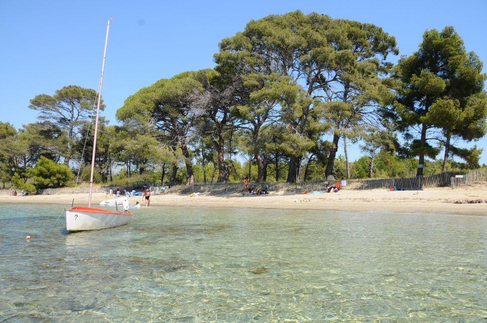 plages hyères Plage du Pellegrin