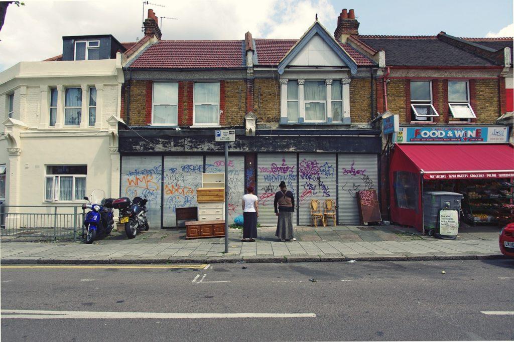 Harlesden en los barrios peligrosos de Londres