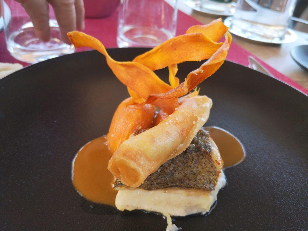 Restaurante romantico en Colliure Cataluña francesa